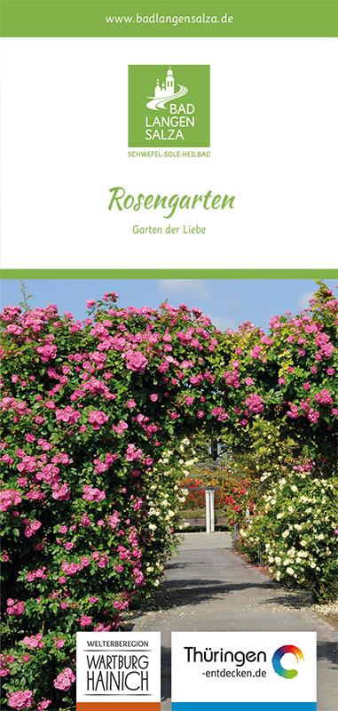 Der Flyer zum Rosengarten 2015